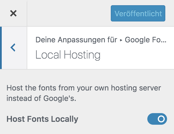 google fonts deaktivieren in wordpress